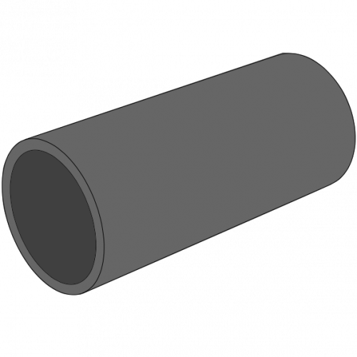 Tube PE100 Pression noir SDR17 - S8 - PN10 - Ø110