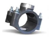 Collier de prise mécanique inox PN16 - Ø110 - filetage 1