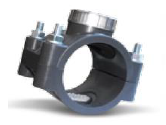 Collier de prise mécanique inox PN16 - Ø110 - filetage 1¼