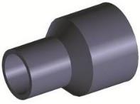 Réduction PE100 PN16 - Base Ø110 - Réduction Ø75