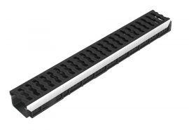 Caniveau KENADRAIN HD PARK H80mm grille Polyamide noire C250