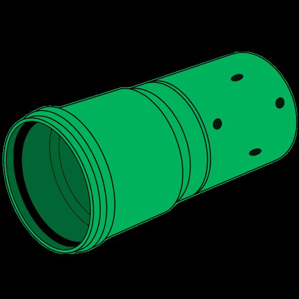 Tube PP-HM manchonné SN16 Ø500 lg 6m