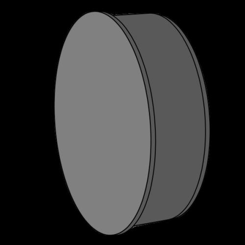 Bouchon extrémité manchonnée HDPE  Ø125