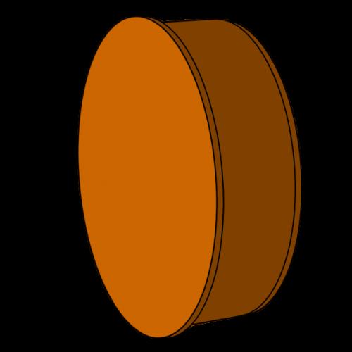 Bouchon pour extrémité lisse - Pièce façonnée - Ø125