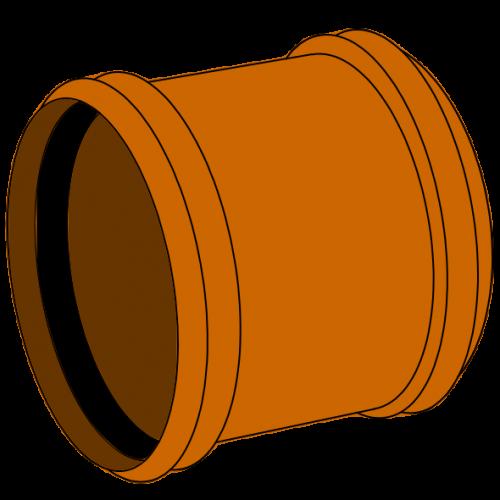 Manchon Coulissant PVC - Pièce façonnée - Ø500