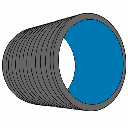 Tube HDPE annelé MAGNUM manchonné SN4 Ø1000