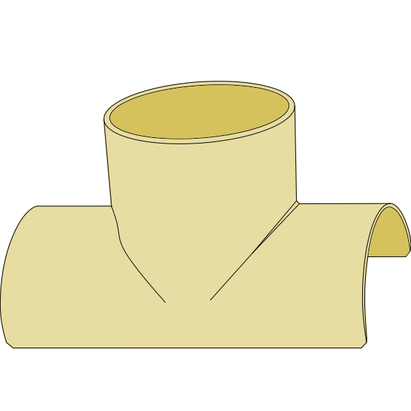 Selle à coller pour amorce de regard H 300 mm DN 600