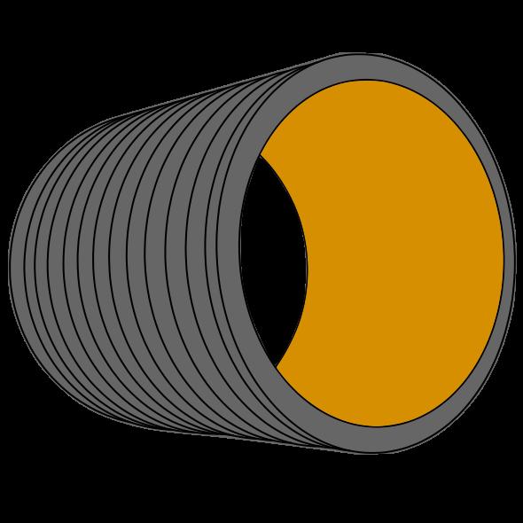 Tube PP annelé HYDRO16