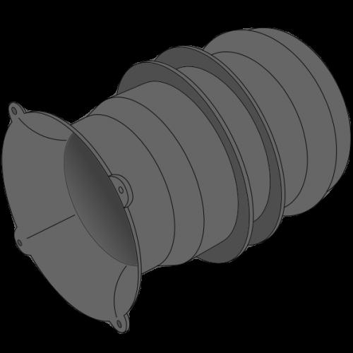 Manchette d'extrémité Plastitech PEPC - Ø120/132