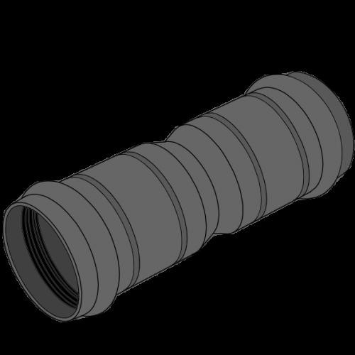 Manchon double PEPC - Ø100/112