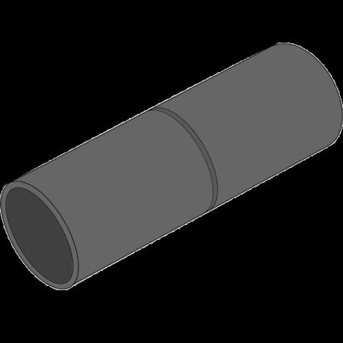 Coude Varioflex Ø59,3mm - 3m manchonné