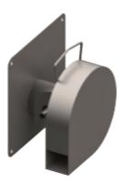 Régulateur de débit Inox à effet VORTEX Débit 0,5 à 1 l/s - Hauteur 1m
