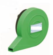 Régulateur de débit PE à effet VORTEX Débit 0,5 à 1 l/s - Hauteur 1m