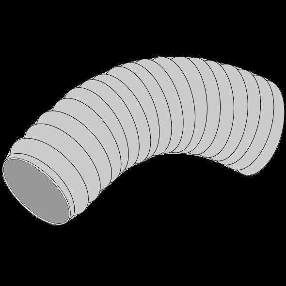 Gaine souple renforcée PVC Øint 90 Øext 96,6 (longueur de 10m)