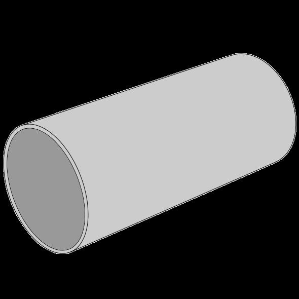 Tube ventilation PPs lisse Ø32