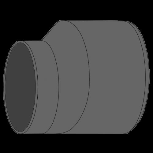 Réduction conique excentrée sur gaine PEHD SDR33/SN2 à extremités lisses DN1000 SGK