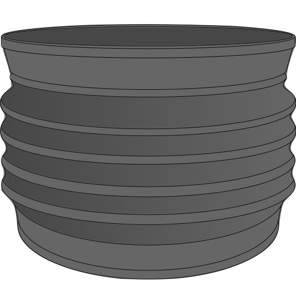 Manchettes souples PP type Wellflex