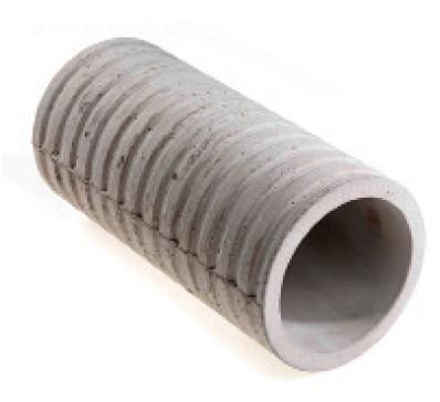 Manchette en fibre-ciment pour traversée de mur Ø200 pour gaines 140/160